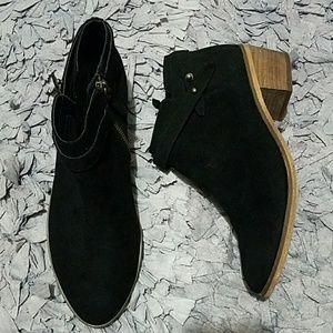 Melrose and Market Black Kamryn Booties